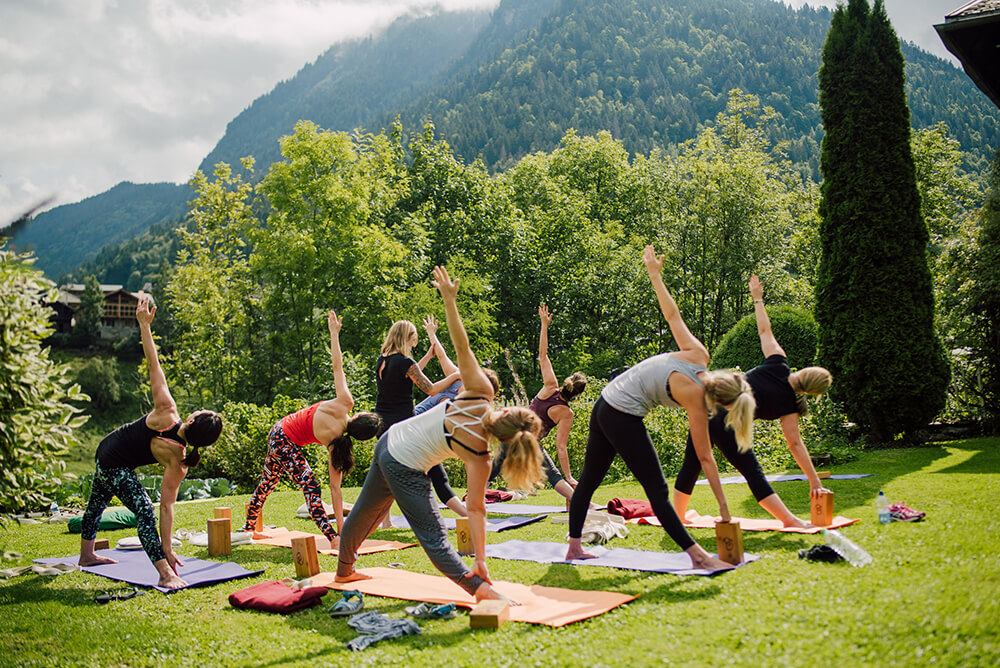 Yoga and Hiking Weekend Retreat in the French Alps
